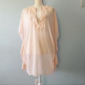 VICTORIA'S SECRET SWIM SUIT COVERUP SZ M/L
